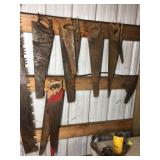 ASSORTED HAND SAWS