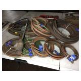 ASSORTED GAS WELDING HOSES
