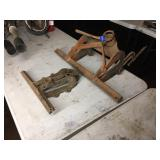 (2) SAW VISE CLAMPS