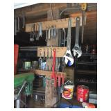 ASSORTED TOOLS, OPEN END WRENCHES, ADJUSTABLE