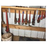 ASSORTED PIPE WRENCHES