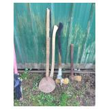 AXES & POST HOLE CLEANER