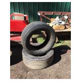 (2) 27 X 9.50 IMPLEMENT TIRES