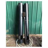"DBL WALL STOVE PIPE, 66"" W/ BRUSH"