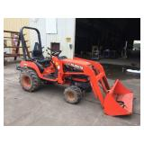 KUBOTA 4WD BX2200 TRACTOR W/ FRONT LOADER
