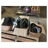 "(3) BOXES OF 1"" & 2"" X 60"" GRINDING SANDING BELTS"