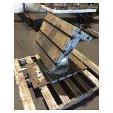 RADIAL ARM DRILL T-SLOT BOX TABLE