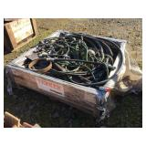 ASSORTED HYDRAULIC HOSES & MISC