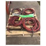 ASSORTED SIZED AIR HOSES, 2