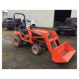 KUBOTA BX2200 4WD TRACTOR W/ FRONT LOADER