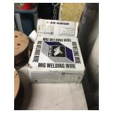 ASSORTED WELDING WIRE