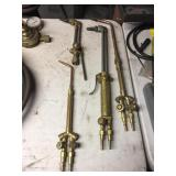 (4) OXY ACETYLENE TORCH HEADS