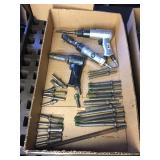 ASSORTED PNEUMATIC TOOLS W/ BITS
