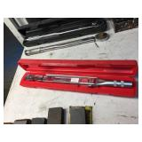 "SNAP-ON 3/8"" TORQUE WRENCH, TQFR100B"