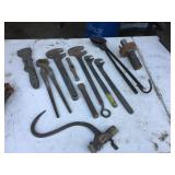 ASSORTED BLACKSMITH TOOLS