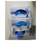 Glove Dispensers, 3 box, Clear Acrylic