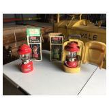 (2) Coleman 200 Series Gas Lanterns
