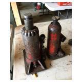 Pair Bottle Jacks