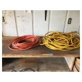 (2) Heavy Duty Electrical Cords