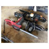 (4) Electric Chain saws