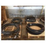 (4) Concrete Pump Hoses
