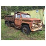 Chevrolet Truck with Dump Box