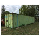 """40"""" Shipping / Storage Container"""
