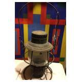 C&N.W. R.R. Lantern