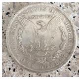 1893 Morgan Silver Dollar (CC)