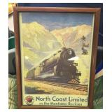 North Coast Limited Framed Picture