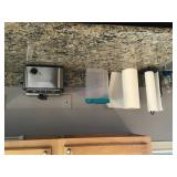 Contents of countertops in kitchen