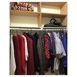 Contents of closet