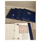 Five binders US Postal Service commemorative