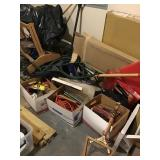 Three boxes of miscellaneous air compressor,