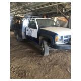 98 Chevy  ton dump truck, Electric over Hydraulic