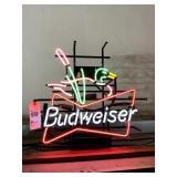 Budweiser Duck Neon Sign
