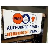 Midwest PMS Authorized Dealer Sign