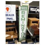 Remington Tires Enamel Sign