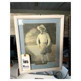 Framed & Matted Picture of Tom Mix