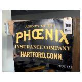 Phoenix Insurance Company Tin Sign