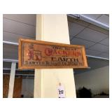 Sawyer Biscuit Co Wooden Sign