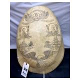 Large Turtle Shell Art Reproduction