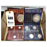 Barber Half-Dollar and Dime Mint Mark Collections