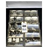 10 Stereoscope View Cards