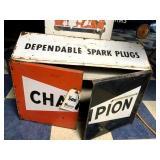 Champion Spark Plugs Cabinet