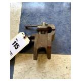 Small Clamp-On Vise