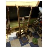 Oak Steel Wheeled Hand Cart