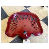 Unmarked Cast Iron Implement Seat