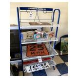 Continental Baking Company Display Rack