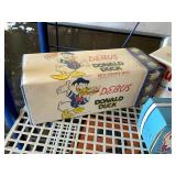 Old Bread Wrappers & Three Valleys Ice Cream Box